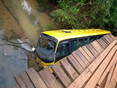 Nota da Prefeitura de Eldorado-SP, sobre acidente com ônibus no Quilombo Ivaporunduva