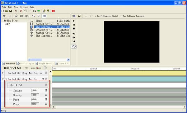 Wax Video Editing Tool Software