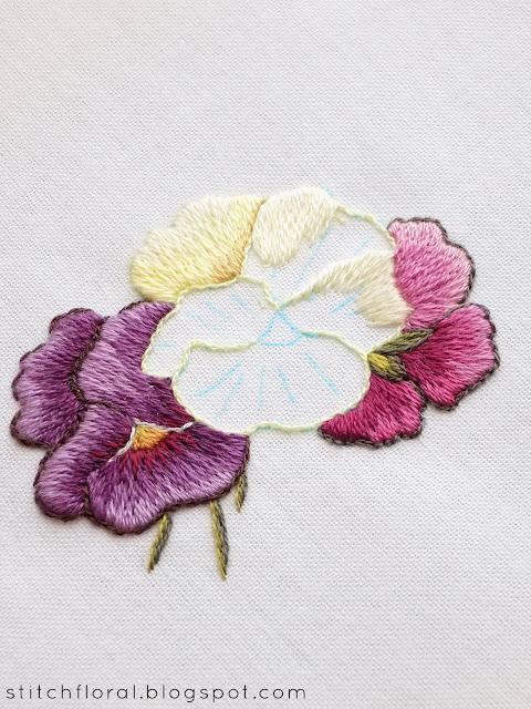 Needle Painting stitch along: part 4