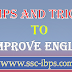Tips and Tricks to Improve English for competitive exams PDF Download