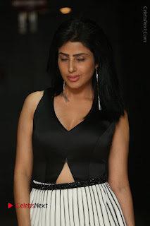 Actress Pragya Stills Beautiful Long Dress at RGV Shiva to Vangaveeti Event  0055.JPG