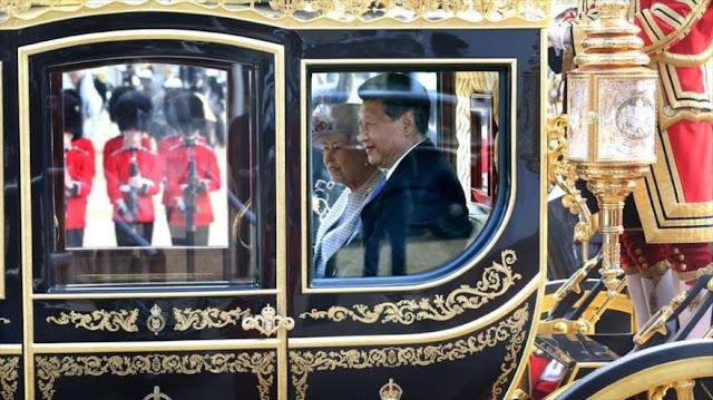 Japón paga por difundir la idea de la amenaza china en Reino Unido