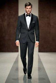 Black Tie Men S Tuxedo Suit Trend Bridal Fashion Wedding Ideas