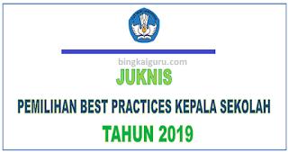 Juknis Best Practices Kepala Sekolah SD SMP SMA dan SMK