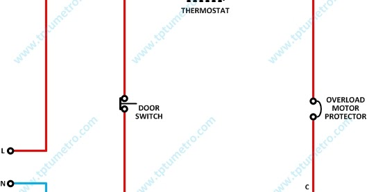 Wiring Diagram Refrigerator    Kelistrikan Kulkas Satu Pintu