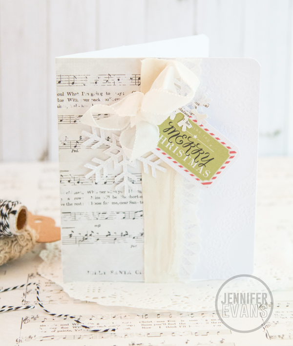 Merry and Bright Card @pinkpaislee @creatoften #pinkpaislee #christmas #card #diy