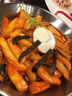 Spicy Dduk-bokki - BBQ Chicken and Beer