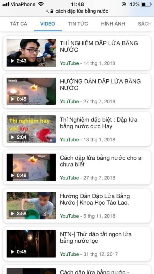 Ý tưởng youtube quá bá đạo