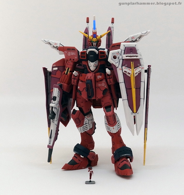 RG Real Grade Justice 1/144 ZGMF-X09A fluoresecent