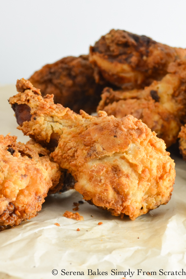 Extra Crispy Fried Chicken is the ultimate comfort food!