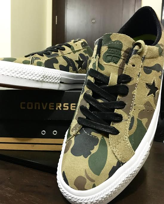 89e99f7f7920e Me, My CONVERSE Cons One Star Pro Camo and the Much-Deserved Out of ...