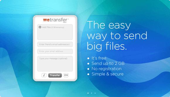 neo 2.0 - WeTransfer - Transferencia de archivos sin registro