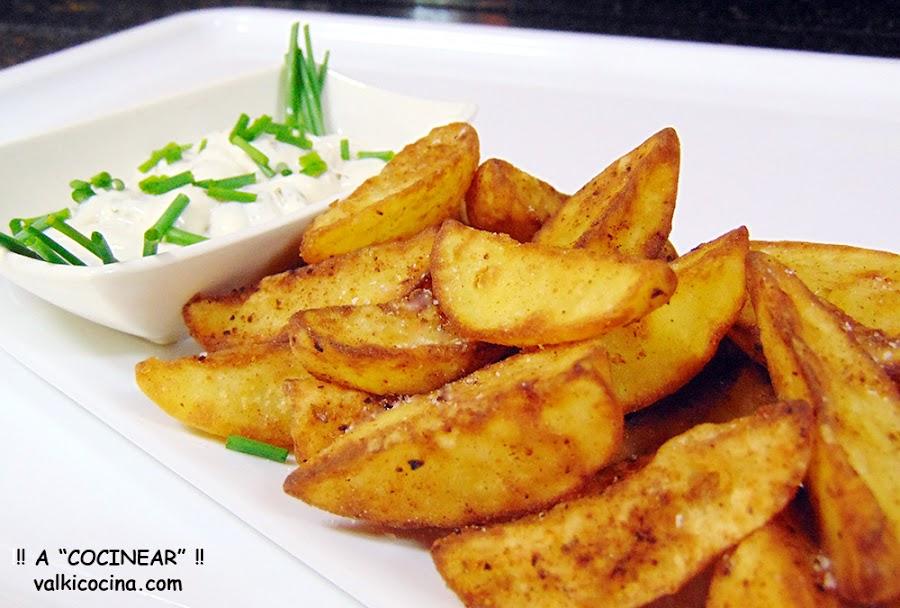 Patatas gajo rápidas y fáciles Receta exprés