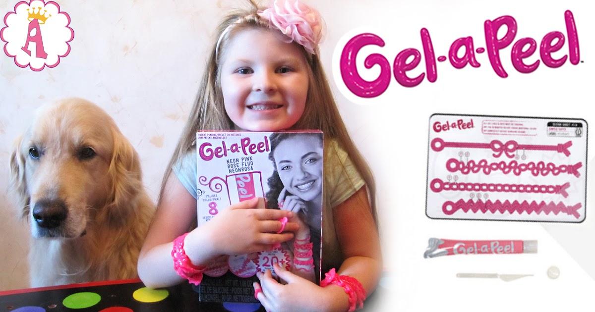 <b>Набор</b> юного дизайнера Gel-a-Peel от MGA: <b>создание</b> ...