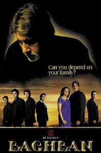 Poster Of Bollywood Movie Baghban (2003) 300MB Compressed Small Size Pc Movie Free Download worldfree4u.com