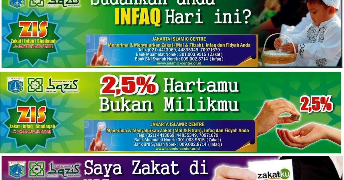 Contoh Banner Panitia Zakat - Kabar Click
