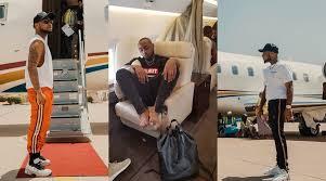 Davido Shows off His Private Jet