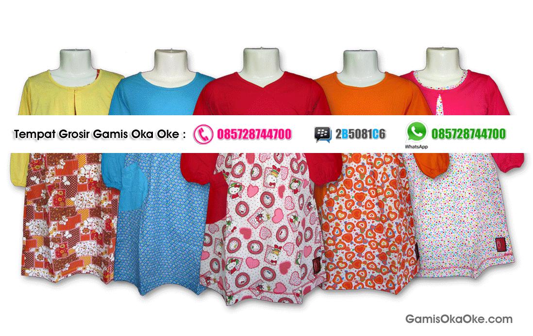 Grosir Baju Gamis Anak dan Dewasa Solo Model Terbaru Harga Murah RP