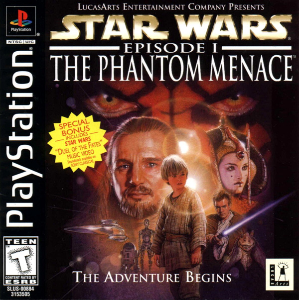 Star Wars - Episode I - The Phantom Menace - PS1 - ISOs Download