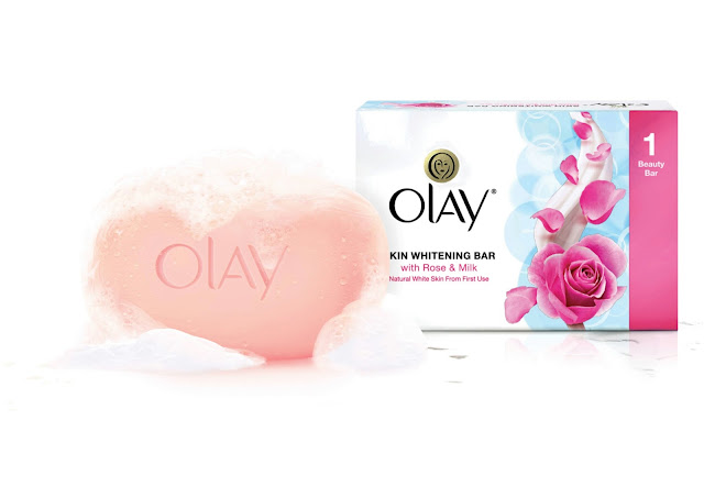 Olay Skin Whitening Bar with Rose and Milk