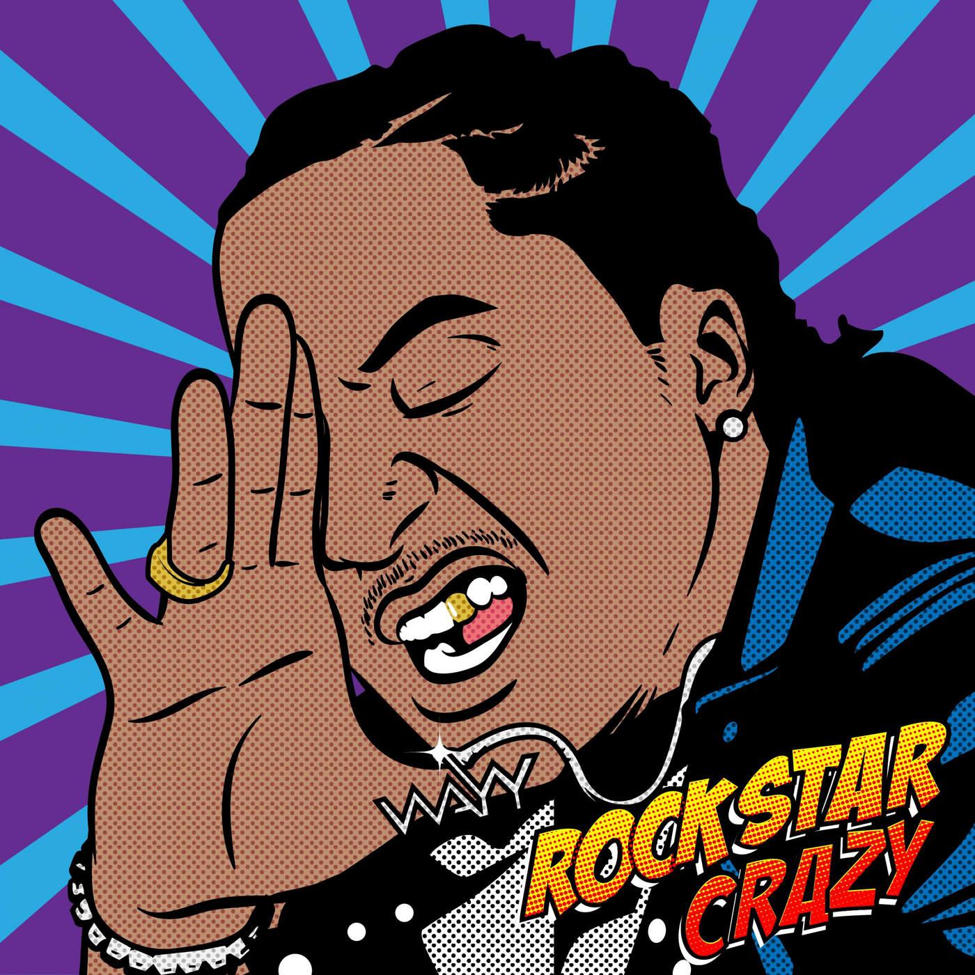K CAMP - Rockstar Crazy - Single Cover