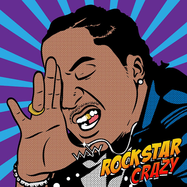 K CAMP - Rockstar Crazy - Single Cover