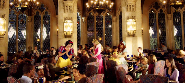 Restaurante Cinderella's Royal Table