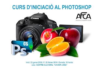 NOU CURS INICIACIÓ AL PHOTOSHOP 2016