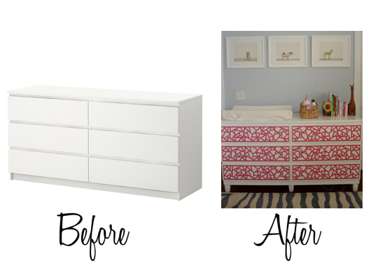 Fifi Cheek Adding Legs To A Malm Dresser, How To Put Legs On Malm Furniture