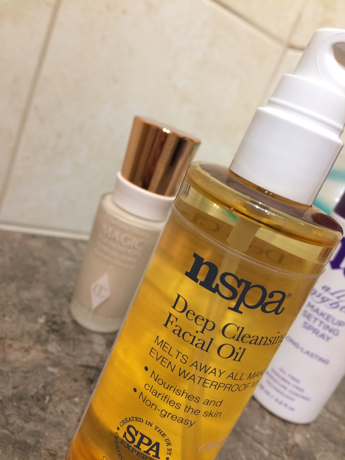 The Lilac Scrapbook: nspa Deep Cleansing Facial Oil // Review