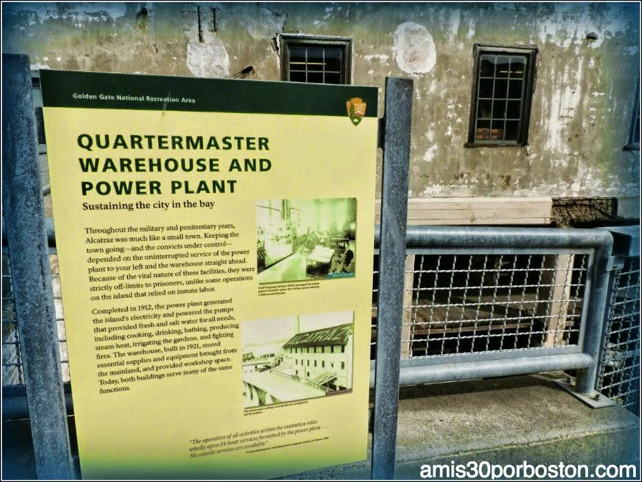 La Prisión de Alcatraz: Planta Eléctrica