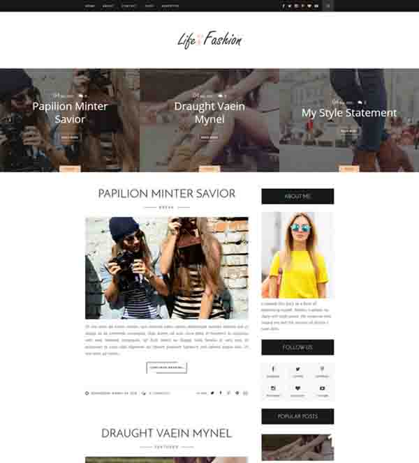 10 best blogger templates that will actually make your for Best paid blogger templates