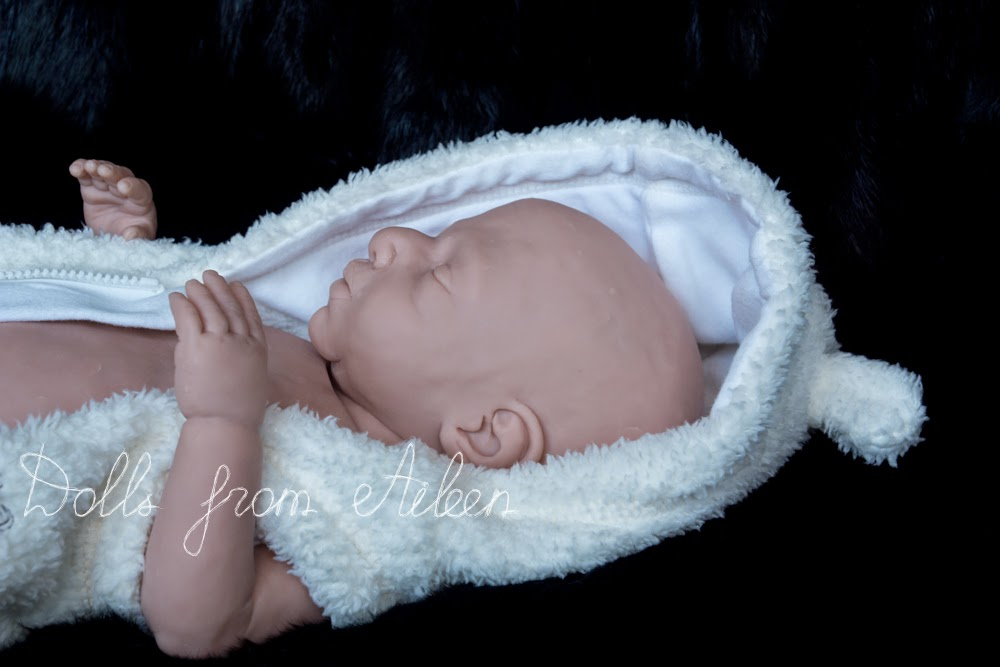 OOAK Hand Sculpted Baby Doll