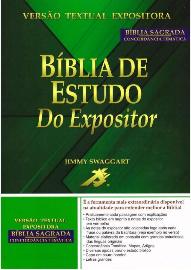 BAIXAR BÍBLIAS: Baixar Grátis Bíblia de Estudo do Expositor
