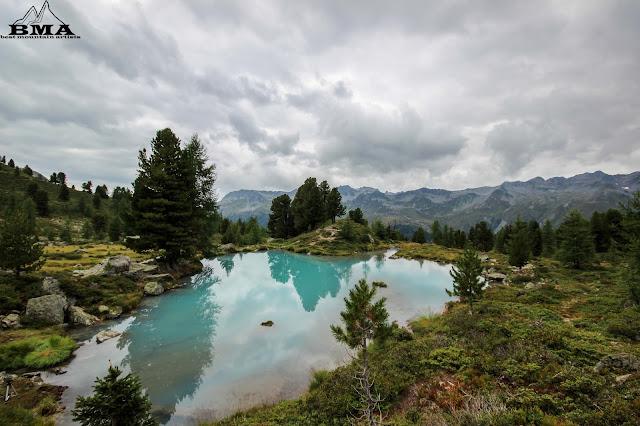 wandern in österreich - berglisee tirol ischgl paznauntal silvretta verwall
