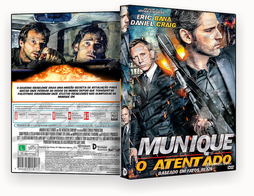 DVD – MUNIQUE O ATENTADO 2018 – ISO
