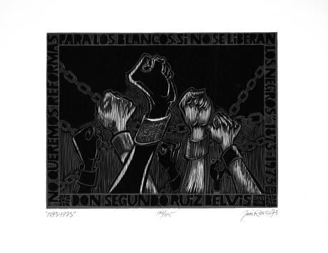 Artes Plásticas AfroPuertorriqueñas: 1873-1973, José Rosa Castellanos -Portafolio Conmemorativo del Primer Centenario de la Abolición de la Esclavitud en Puerto Rico, 1873-1973