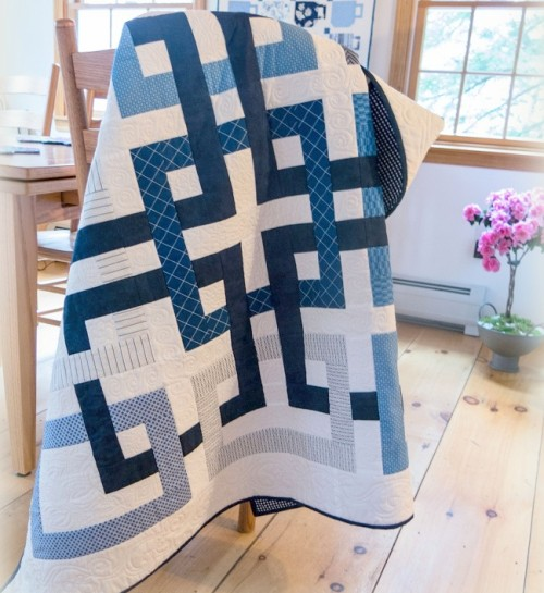 Movement in Squares - Free Quilt Pattern