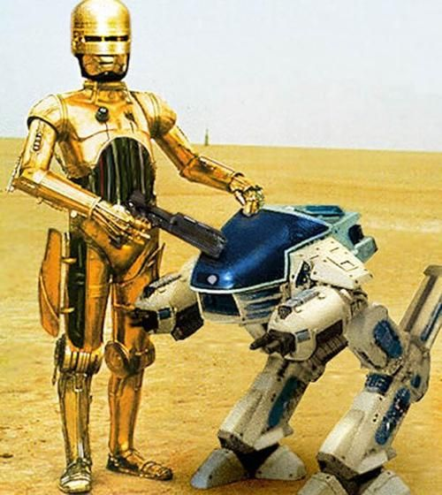 Never Tell Me The Odds: RoboCopped By The Empire (Scene XL