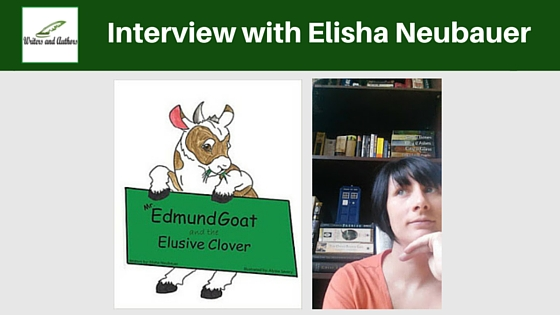 Interview with Elisha Neubauer #AuthorInterview #Books @JoLinsdell @Writers_Authors
