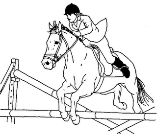 eventing coloring pages - photo#14