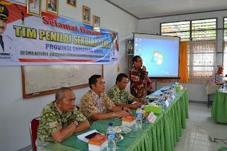 Tim Penilai Lomba Sekolah Sehat Nilai Empat Sekolah di Padang Pariaman