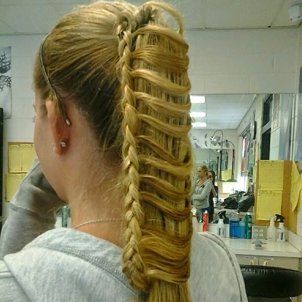 Ladder Braids Tutorials The Haircut Web