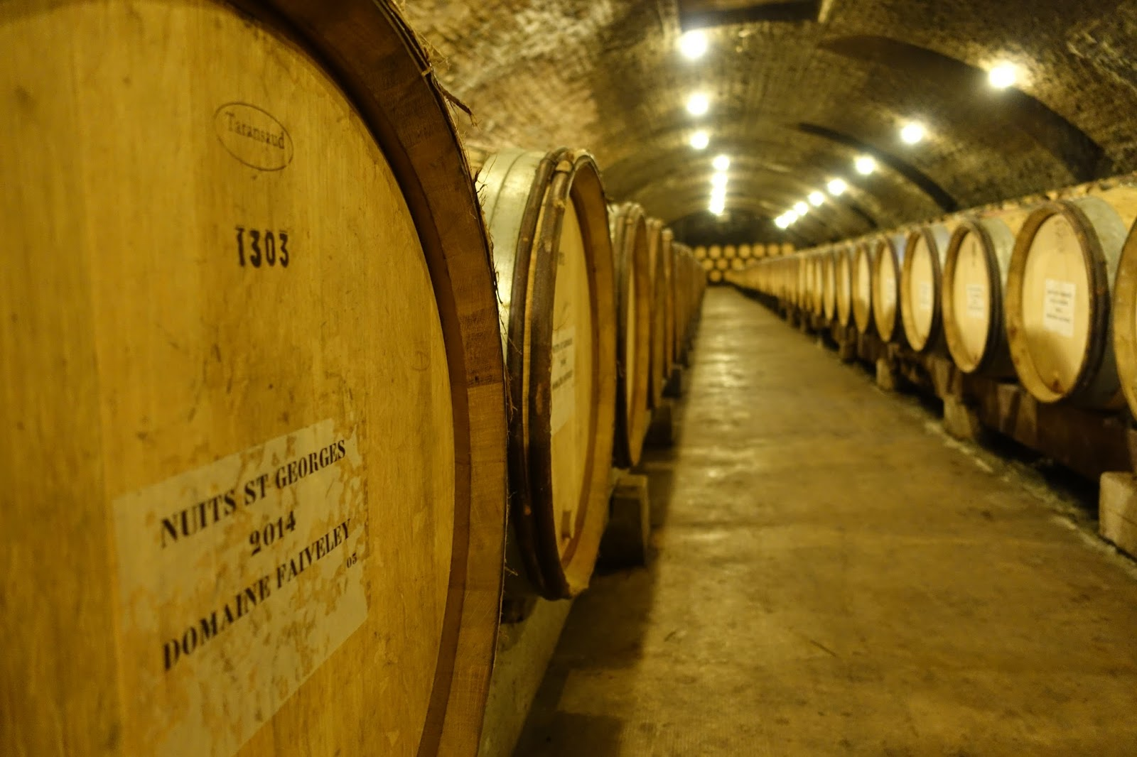 Faiveley cellar