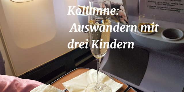 Flugzeug-Sekt-BusinessClass