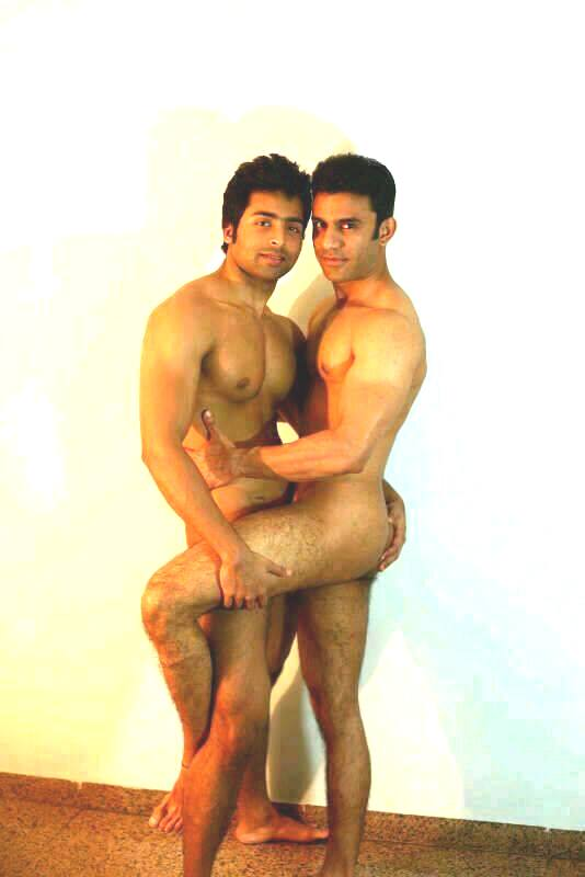 Indian Gay Photo Of A Horny Desi Hunk Jerking Off His Big Dick And Showing His Naked Fit Body