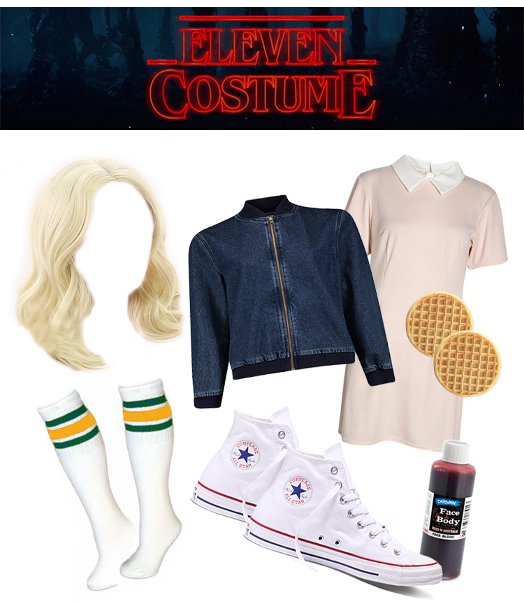 stranger things costumes eleven