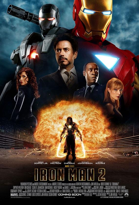 فیلم دوبله : مرد آهنی 2 (2010) Iron Man