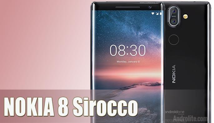 Harga Nokia 8 Sirocco