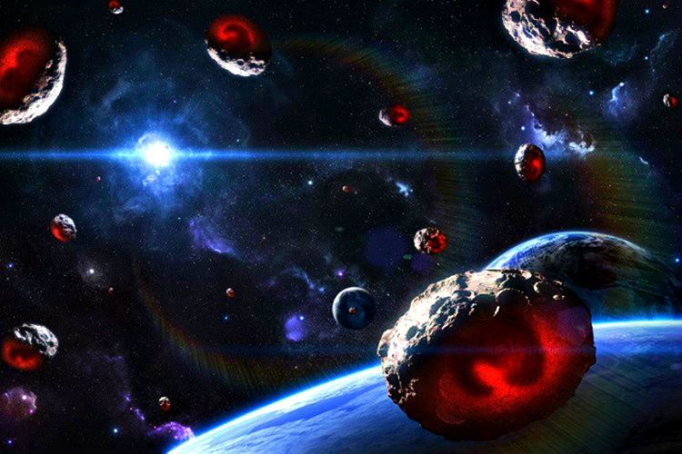 Gezegenimize çarpan Meteoritler dünyamızın her geçen yıl 110.000 ton fazladan ağırlaşmasını sağlamaktadır.